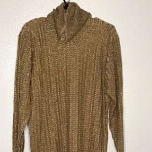 Gold sweater